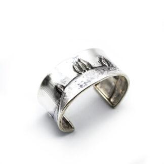 bracciale-argento 925-fatto a mano-sterling silver-bracelet-hand made-matteo macallè-cipressi