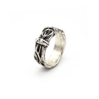 Anello-argento 925-fatto a mano-sterling silver-ring