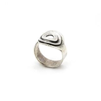 Anello 925-argento-cerchi-fatto a mano-sterling siler-ring-handmade