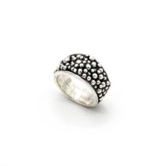Anello-argento 925-perlage-fatto a mano-sterling silver-ring