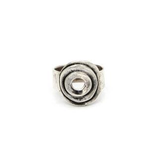 anello-argento 925-cerchi-fatto a mano-sterling silver-ring-handmade
