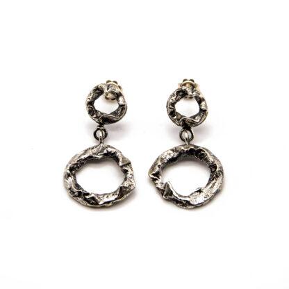 orecchini-collana-argento 925-fatto a mano-sterling silver-earrings-hand made-matteo macallè