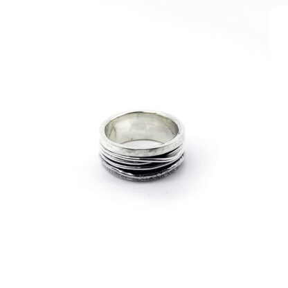 Anello-argento 925-mille fili-fatto a mano-sterling siler-ring-wires