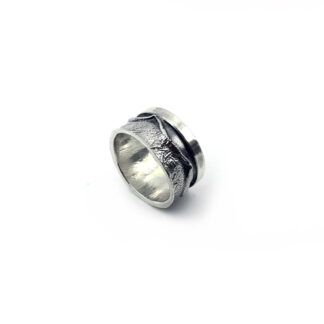 anello uomo-argento 925-fatto a mano-sterling silver-ring-handmade