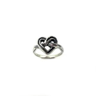 anello-argento 925-fatto a mano-sterling silver-ring-handmade-matteo macallè-cuore-amore-love-san valentino