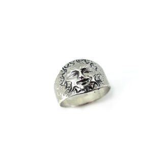 anello-argento 925-fatto a mano-sterling silver-ring-handmade-matteo macallè-sole-sun