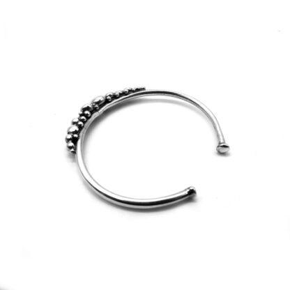 bracciale-argento 925-fatto a mano-sterling silver-bracelet-hand made-matteo macallè-perlage-pallini-balls